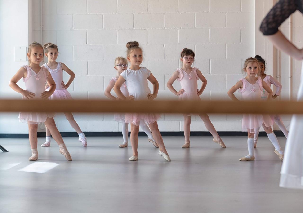 Russian Ballet School 7 years student