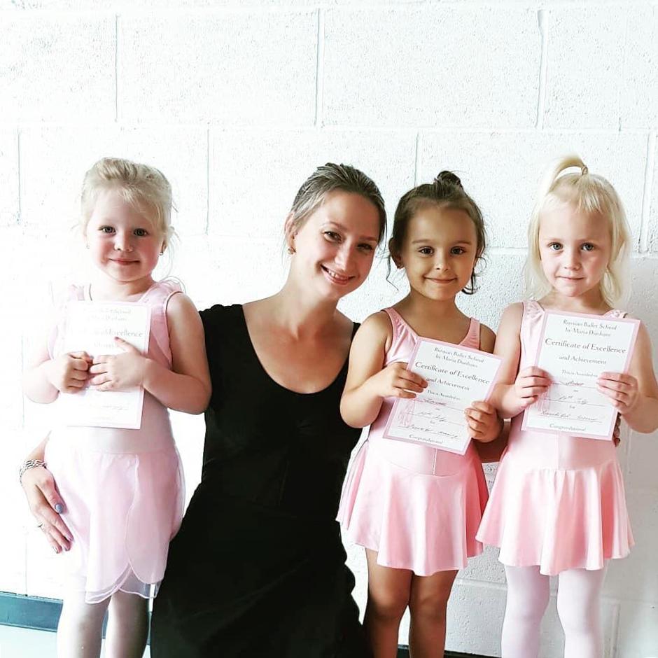 russian ballet school-maria dunham-graduation ceremony with