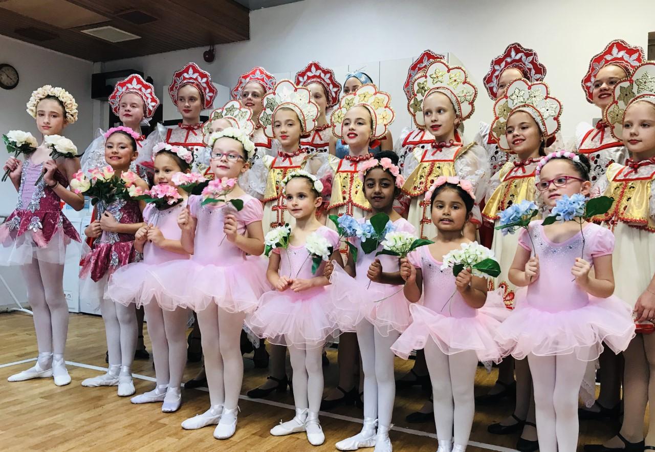 Russian Balleet School Show